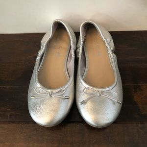 Other - Girls American Eagle Flats size 13 silver